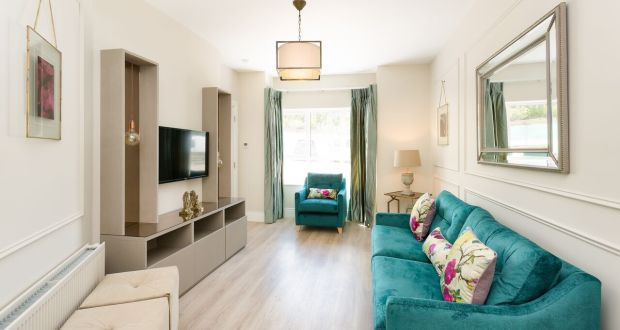 Decorating A Room With No Fireplace: A Living Room At Airpark Square,  Rathfarnham,