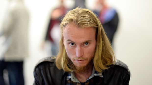 Ryan O'Sullivan Keating at the 'Vikings' auditions in Dublin. Photograph: Cyril Byrne/The Irish Times