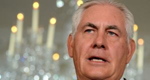 US Secretary of State Rex Tillerson  on Monday proposed the abolishment of the US special envoy to Northern Ireland. Photograph: Reuters/Mike Theiler