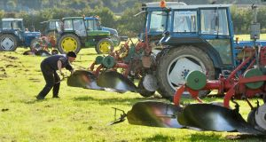 A record 300,000 people expected to attend this year's National Ploughing Championships. Photograph: Alan Betson