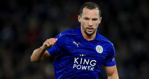 Leicester midfielder Danny Drinkwater has submitted a transfer request. Photo: Mike Egerton/PA Wire