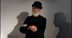 Terry Pratchett: famous for his colourful and satirical Discworld series, he died in March 2015. Photograph: Brenda Fitzsimons