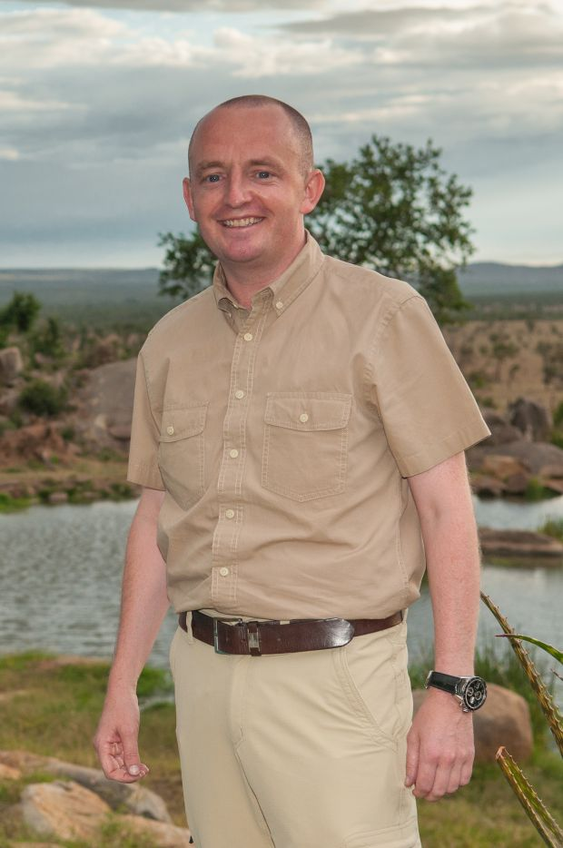 Martin Cody, general manager of the Four Seasons Safari Lodge, Serengeti National Park