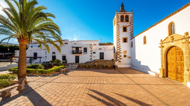 Fuerteventura's old capital, Betancuria. Photograph: Getty Images