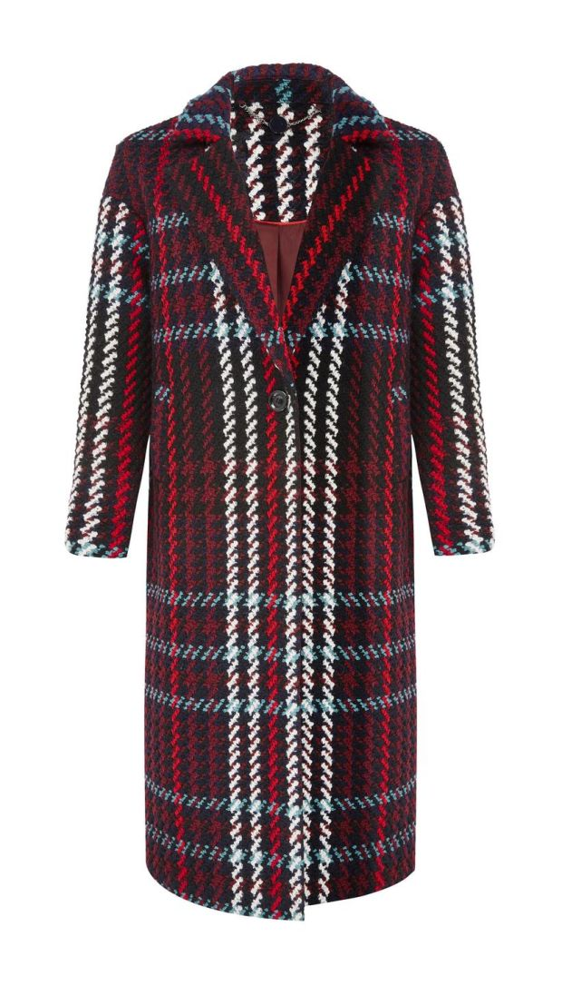M&S Collection Check Coat €135
