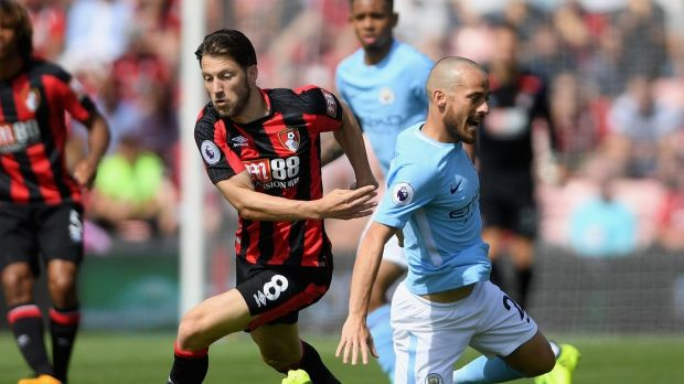Harry Arter has picked up two bookings in Bournemouth's opening three league fixtures. Photograph: Mike Hewitt/Getty