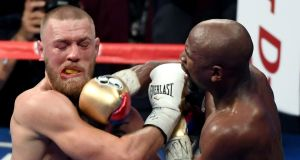 McGregor versus Mayweather  was a white elephant that somehow grabbed the attention of the public, even of those who claimed to have no interest.  Photograph:  Ethan Miller/Getty Images