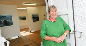 Successful artist Majella O'Neill Collins pictured on Sherkin Island, west Cork. Pic Daragh Mc Sweeney/Provision