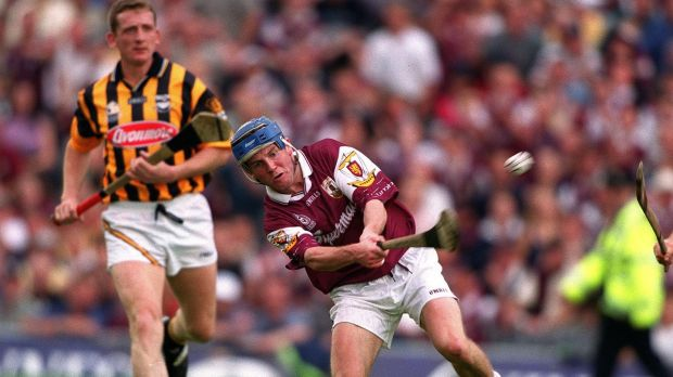 Kevin Broderick in the 2001 All Ireland semi-final against Kilkenny. Photograph: Inpho