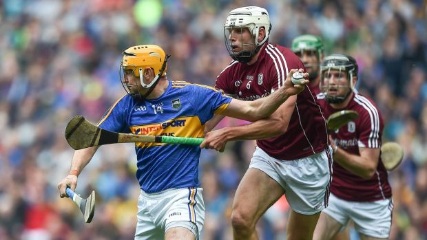 Gearoid McInerney during his man of the match performance against Tipperary. Photograph: Tommy Grealy/Inpho