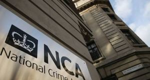 """On 24th August 2017 officers from the National Crime Agency arrested a 54-year-old man at Belfast International Airport in connection with its ongoing Nama investigation,"" the agency said. File photograph: Getty Images"