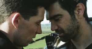 The hills have eyes for you: Josh O'Connor and Alec Secareanu in God's Own Country