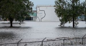 Arkema SA, the operator of a  chemical plant in Crosby, Texas,  said there had been two explosions at the flooded site and more could come. Photograph: Godofredo A. Vasquez/Houston Chronicle via AP.