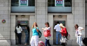 AIB's shares promoted to FTSEurofirst 300 index. Photograph: Jock Fistick/Bloomberg