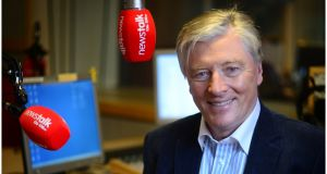 Newstalk's Pat Kenny. Photograph: Bryan O'Brien