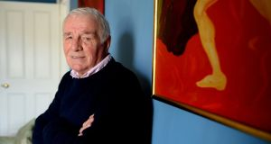 """I should have called it Roy Keane House"": Eamon Dunphy at home. Photograph: Cyril Byrne"