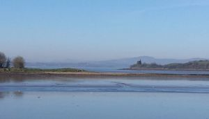 Inch Levels: reclaimed land  on the shoreline of Lough Swilly