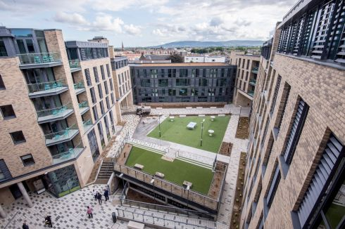STUDENT HOUSING: The new Global Student Accommodation centre on Mill Street, Dublin, which has 400 units costing an average of €1,000 a month. Photograph: Brenda Fitzsimons/The Irish Times
