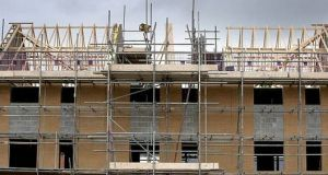 Senior Government figures have discussed setting up a new housing corporation that would be able to act as a developer of State-funded homes. Photograph: Getty Images