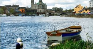 The River Shannon at Athlone: With only half of all Irish rivers and lakes deemed to be in a healthy state, environmental groups have called for a more robust approach to stopping water pollution and to preventing deterioration in pristine waters.
