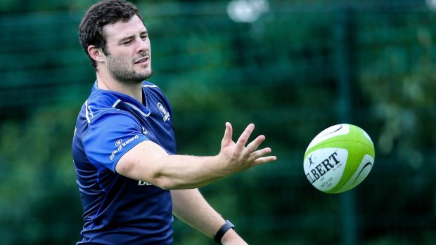Robbie Henshaw is a massive player for Leinster this season. Photograph: Gary Carr/Inpho