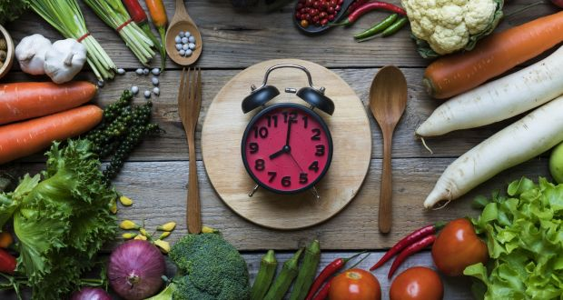 We need to eat when we are hungry, at consistent mealtimes, and we need to listen to the ticking of those billions of circadian clocks that keep us healthy