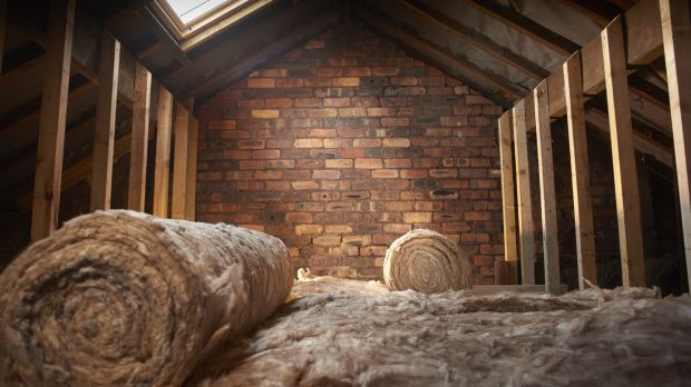 Attic insulation. Photograph: Thinkstock