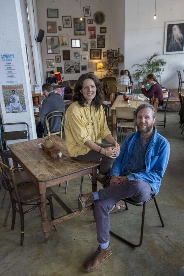 Aisling Rogerson and Luca D'Alfonso have an interesting programme of autumn events at the Fumbally Stables. Photograph: Brenda Fitzsimons