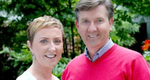 Majella and Daniel O'Donnell: about to get their home turned on its axis