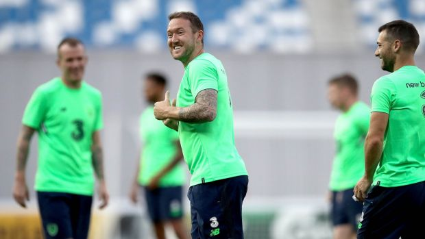 Aiden McGeady was Ireland's match-winner in Georgia in 2014 during the successful Euro 2016 qualification campaign. Photograph: Ryan Byrne/Inpho