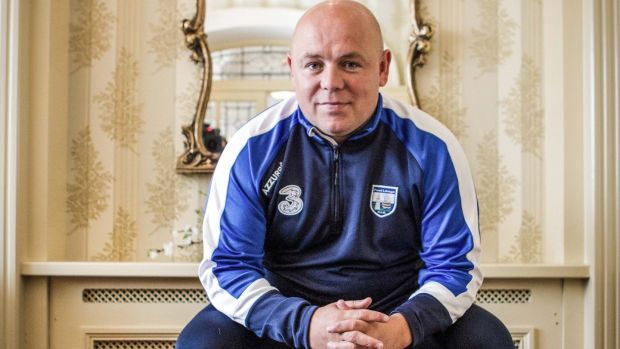 Waterford manager Derek McGrath. Photograph: Inpho/Ken Sutton