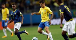 Barcelona abandoned their hopes of signing Philippe Coutinho after Liverpool demanded €200m for the midfielder. Photograph: Andre Penner/AP
