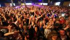 The RTE Concert Orchestra giving the crowd what they want at Electric Picnic. Photograph: Niall Carson/PA Wire