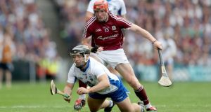 Noel Connor was one of Waterford's better performers in their All-Ireland SHC final defeat to Galway. Photograph: James Crombie/Inpho
