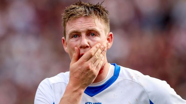 Austin Gleeson after Waterford's All-Ireland final defeat to Galway. Photograph: James Crombie/Inpho