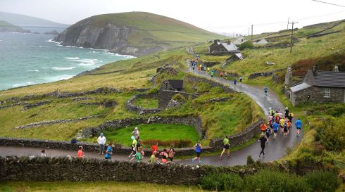 DINGLE RUN: More than 2,600 people took part in the 9th Dingle full and half marathons at the weekend in Co Kerry. Photograph: Domnick Walsh/Eye Focus Ltd
