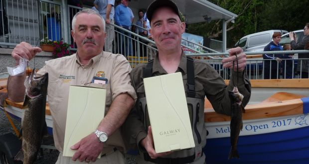 Winners of 2017 Melvin Open: PJ O'Brien and Oliver Dillon