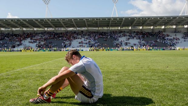 Wexford's Jack O'Connor after his side's defeat to Waterford. Photograph: Morgan Treacy/Inpho
