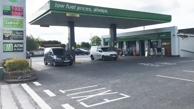 The petrol station let to Applegreen in Enfield, Co Meath, for sale at €1 million