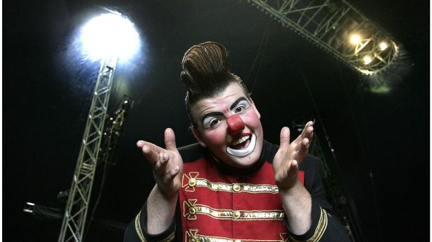 Otto the Clown. Photograph: Brenda Fitzsimons