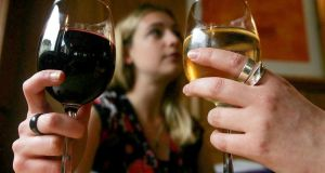 Wine consumption in Ireland hit a record-equalling 9 million last year, matching the figure for 2011. Photograph: PA