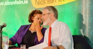 Mary Lou McDonald is expected to succeed  Gerry Adams. Photograph: Alan Betson