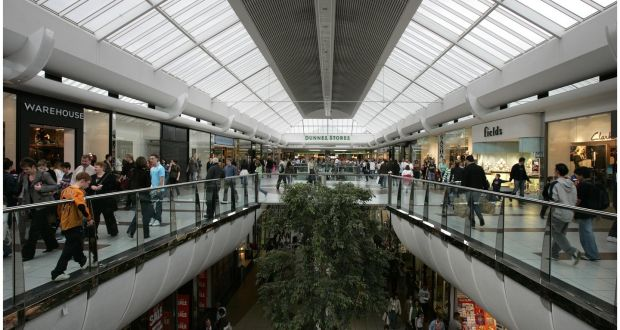 5e05ba851a6be Blanchardstown Shopping Centre will be getting bigger. Photograph: Dara Mac  Dónaill