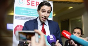 Minister for Health Simon Harris: Sepsis is an extraordinary killer. Photograph: Cyril Byrne/THE IRISH TIMES