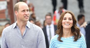 Britain's Prince William, Duke of Cambridge and his wife Kate, Duchess of Cambridge, in Heidelberg, southern Germany, in July. The awards, while high for a French court, are considerably lower than the €1.5 million the couple's legal team had demanded. Photograph: Daniel Roland/AFP/Getty Images