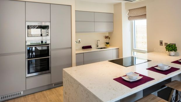 The kitchens in the O'Flynn Group's Killiney scheme, by Cawleys Furniture, include appliances by AEG or Electrolux. Photograph: Peter Moloney/PM Photography