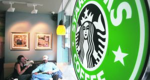 Some Dublin cafes have hit back the prospect of yet another Starbucks in the centre. Photograph: Alan Betson