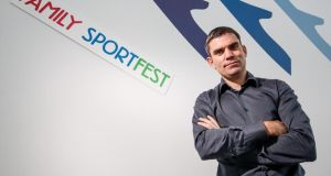 Bernard Dunne: 'The vision is to be the number one high performance team in the world.' Photograph: James Crombie/Inpho