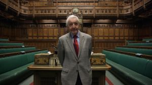 Dennis Skinner – the UK Labour MP who has done for grey tweed sports jackets what Churchill did for cigars