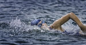 I couldn't swim starting out, and needed to borrow a bike for my first race, but the reward and sense of personal achievement on crossing the line for my first race was special. Photograph: iStock